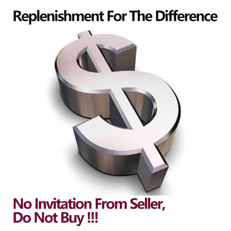 Reconstitution de la différence, aucune invitation, s'il vous plaît ne pas acheter