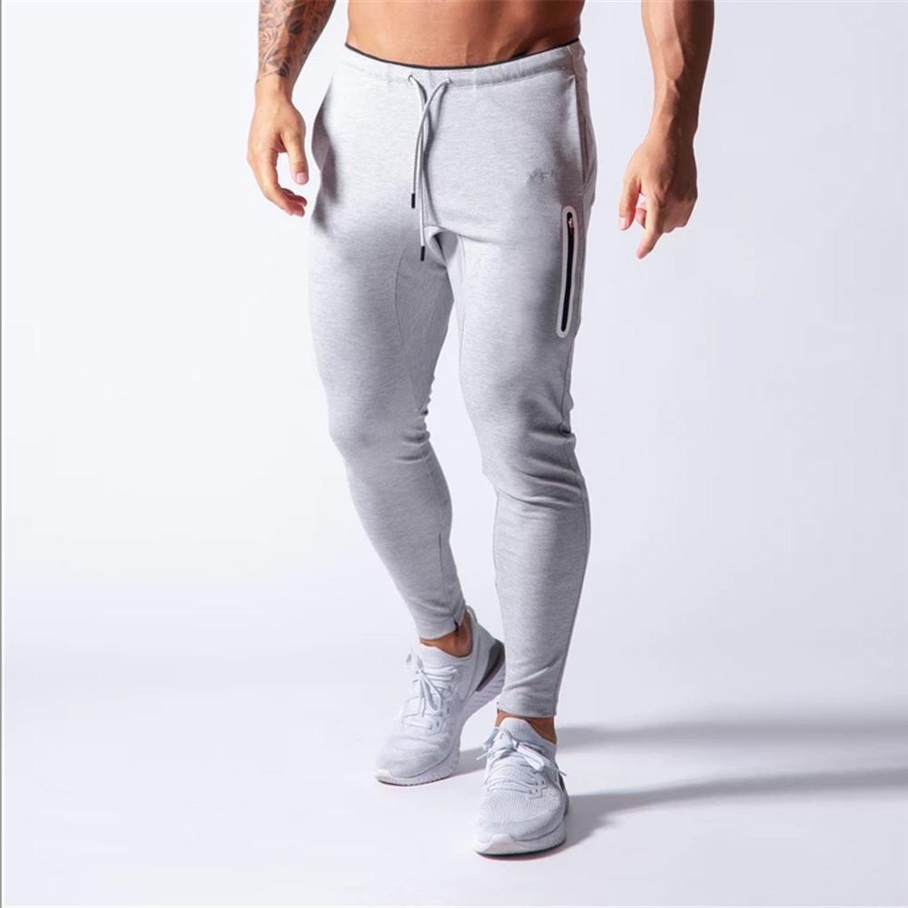2020 брюки мужчины спортивные спортивные штаны бегущие штаны мужчины бегуны хлопковые трексуты тонкие подходят брюки бодибилдинг брюк 20CK01-3 x1228