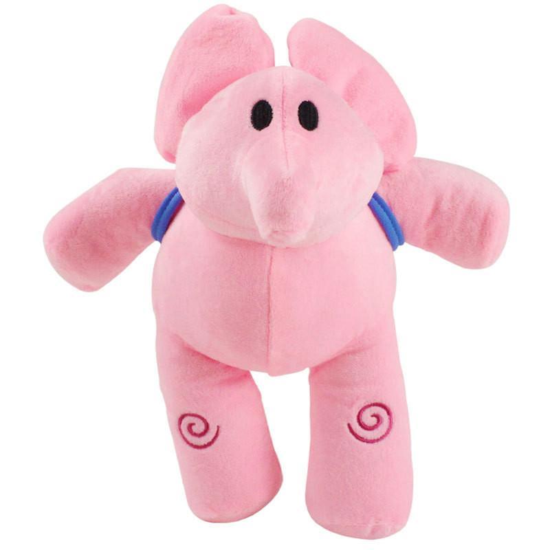 Kids Birthday Gift Ellie Elephant Plush Tolls Little P Youyou Pocoyo Plush dolls Barto Duck Puppy Lula Figurine Kids