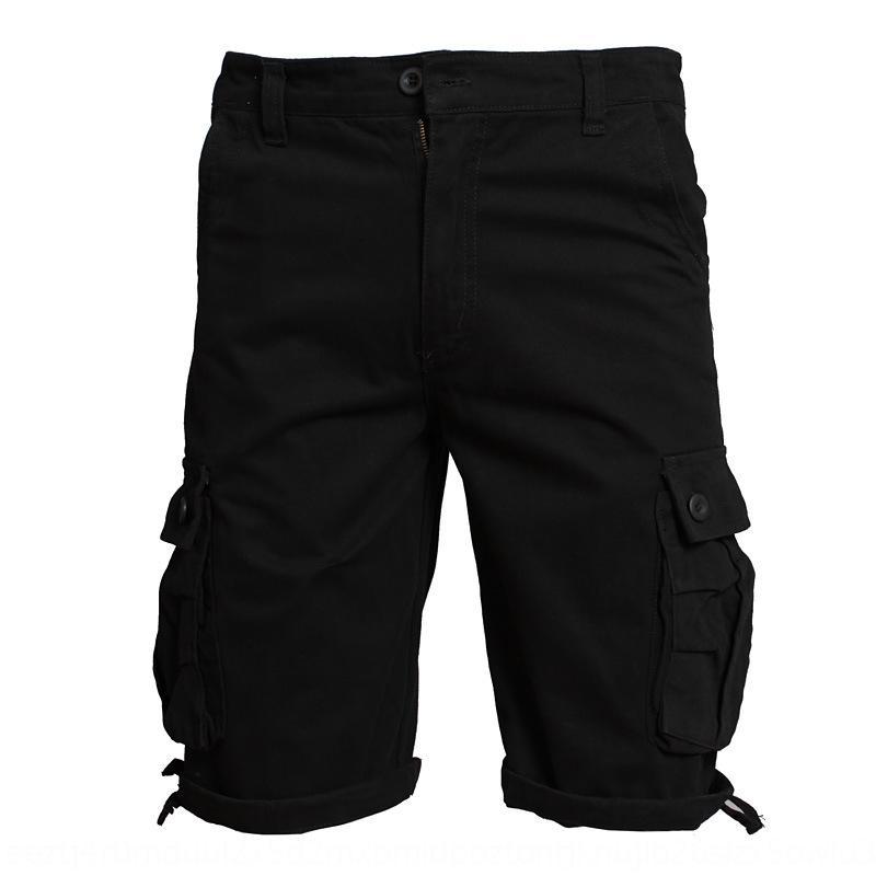 брюки летние комбинезоны и тонкие молодежные шорты мужские сыпучих капри спортивные шорты мужские негабаритные рабочая одежда брюки для мужчин yK93C