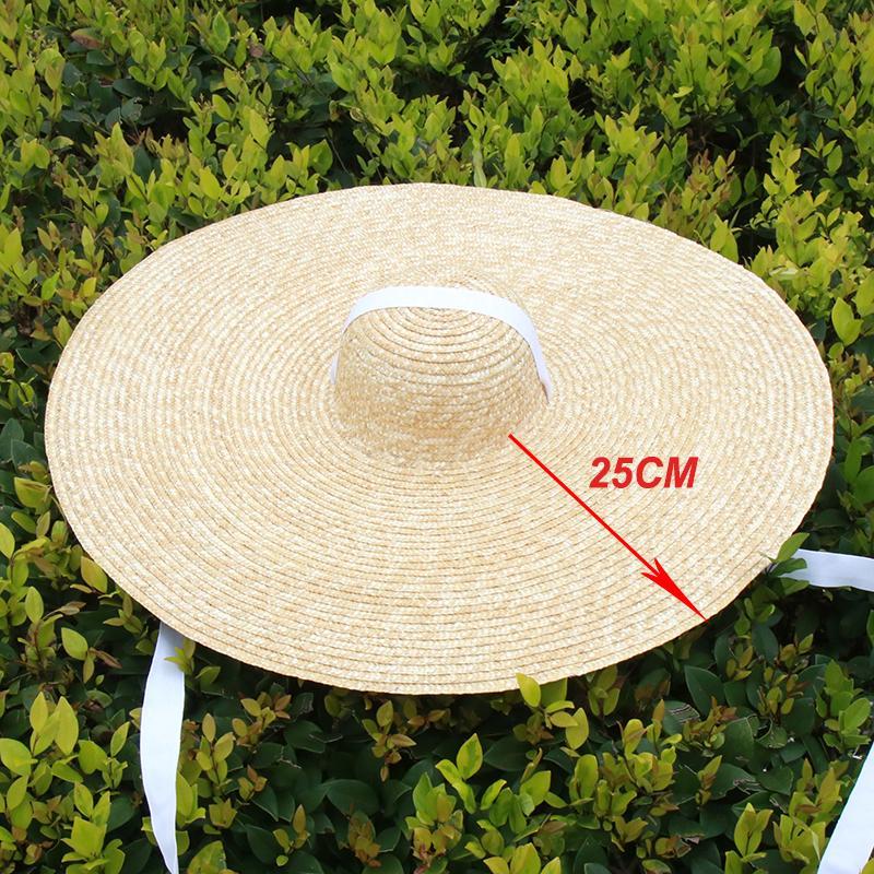 Gorros de playa sobredimensionados de gran tamaño para mujeres grandes alumnos de verano sombrero de sol al por mayor Dropshipping S1085 201015