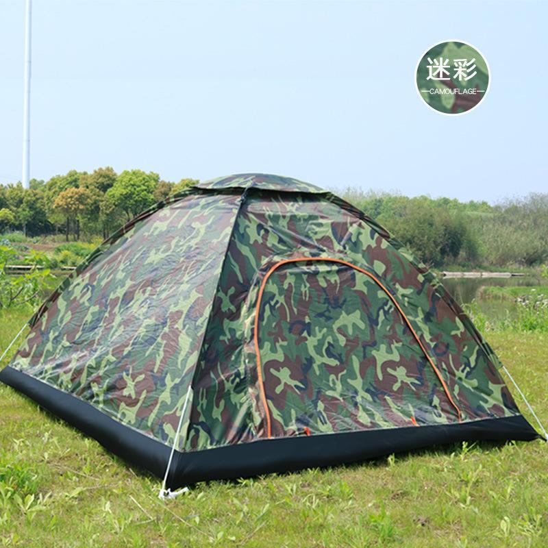 2-3 Personne automatique rapide jusqu'à l'extérieur Abri montagne tente de camping en plein air Sunshelter tentes tente de camping plage