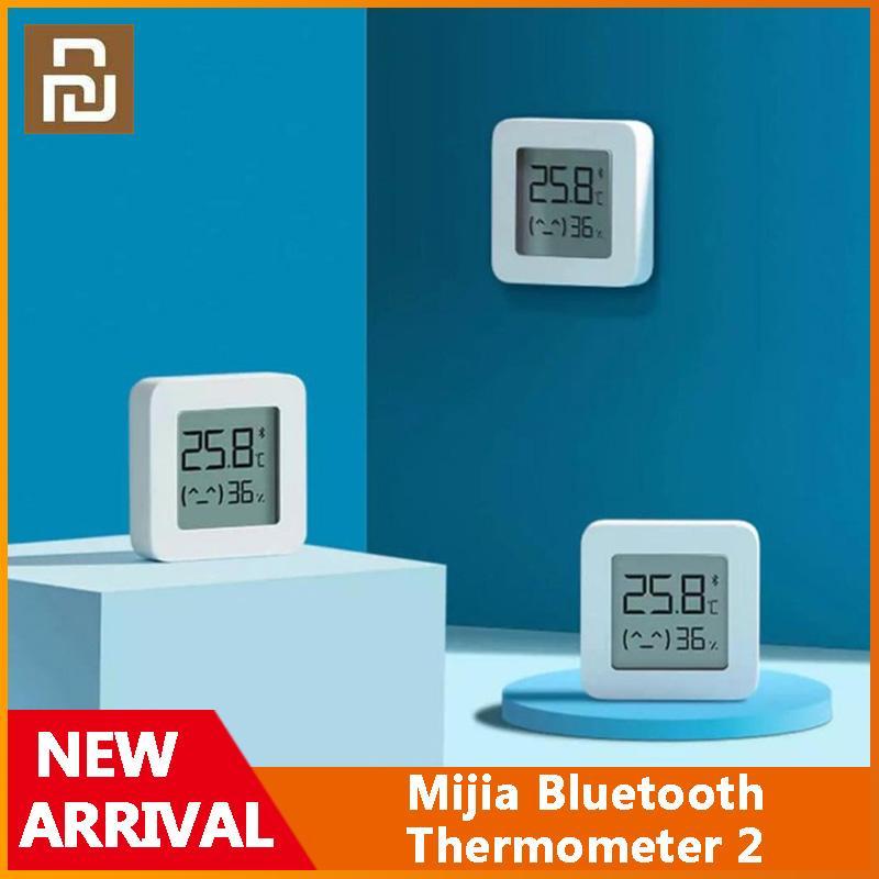 Xiaomi Youpin Mijia Bluetooth Termometro Bluetooth 2 Wireless Smart Electric Digital Digital Thermometer Lavoro con App Mijia