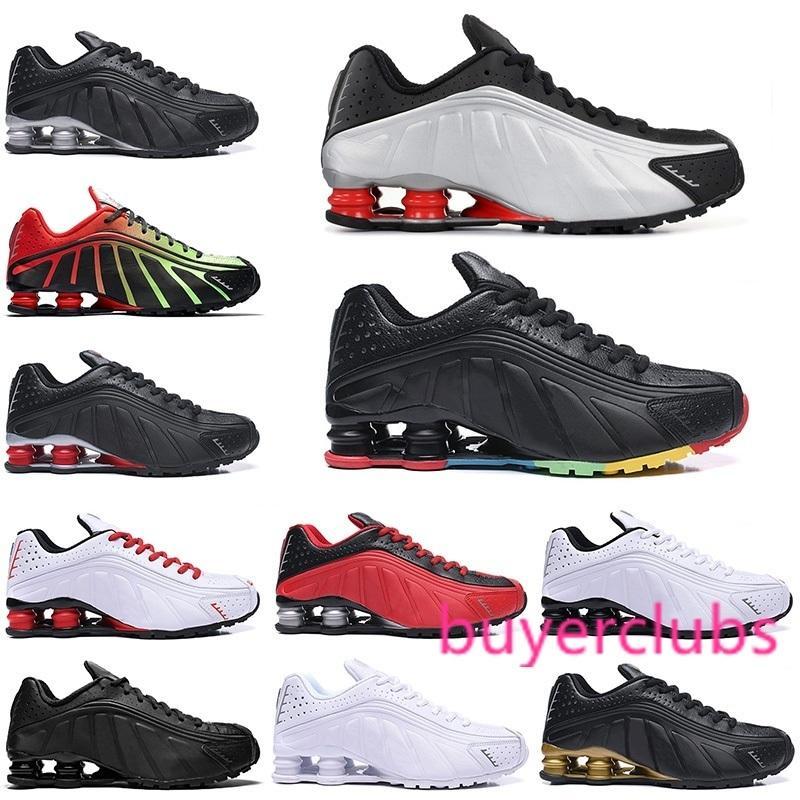 OG R4 Chaussures de course Hommes Sport Chaussures Noir Blanc Triple Défi Rouge Marine Orange Or Argent Hommes Entraîneur Taille 40-46