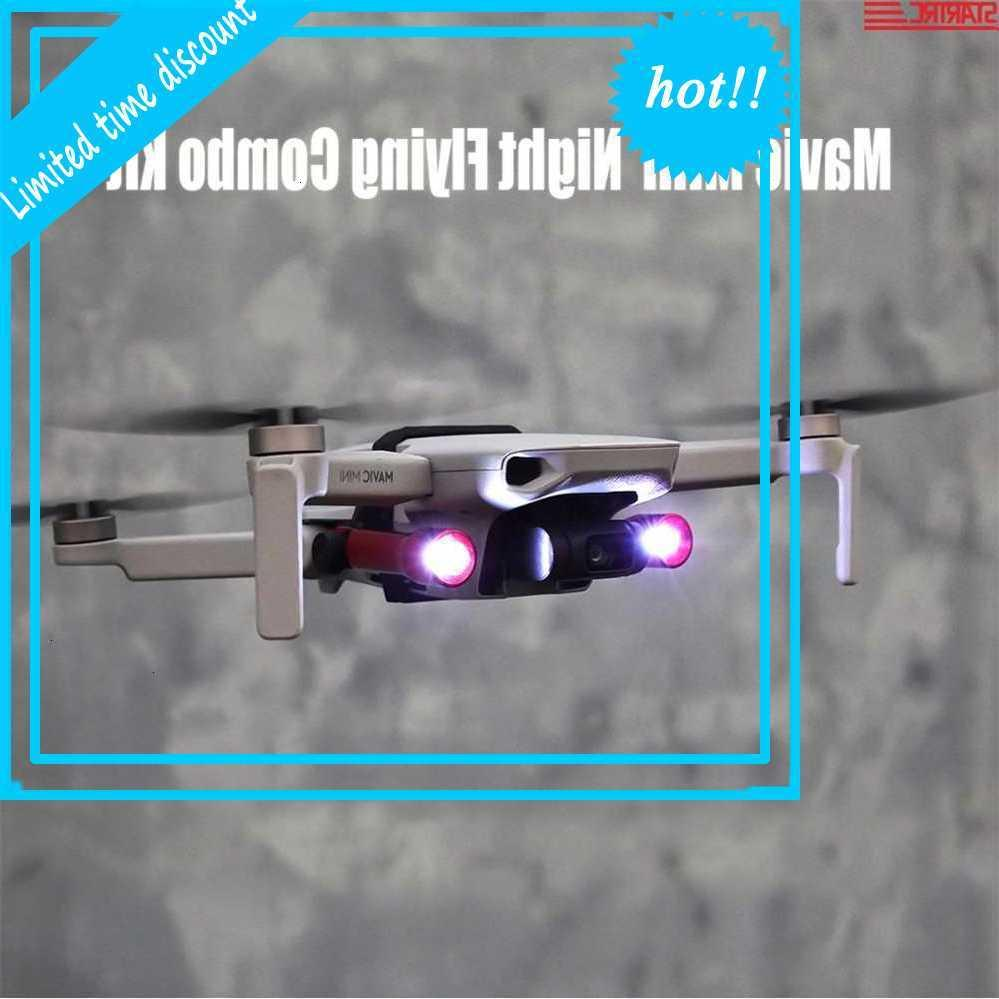 StarTRC 2 noche Flying Combo Extension Kit Easy Llevar con iluminación LED para DJI MAVIC Mini Drone Accessories