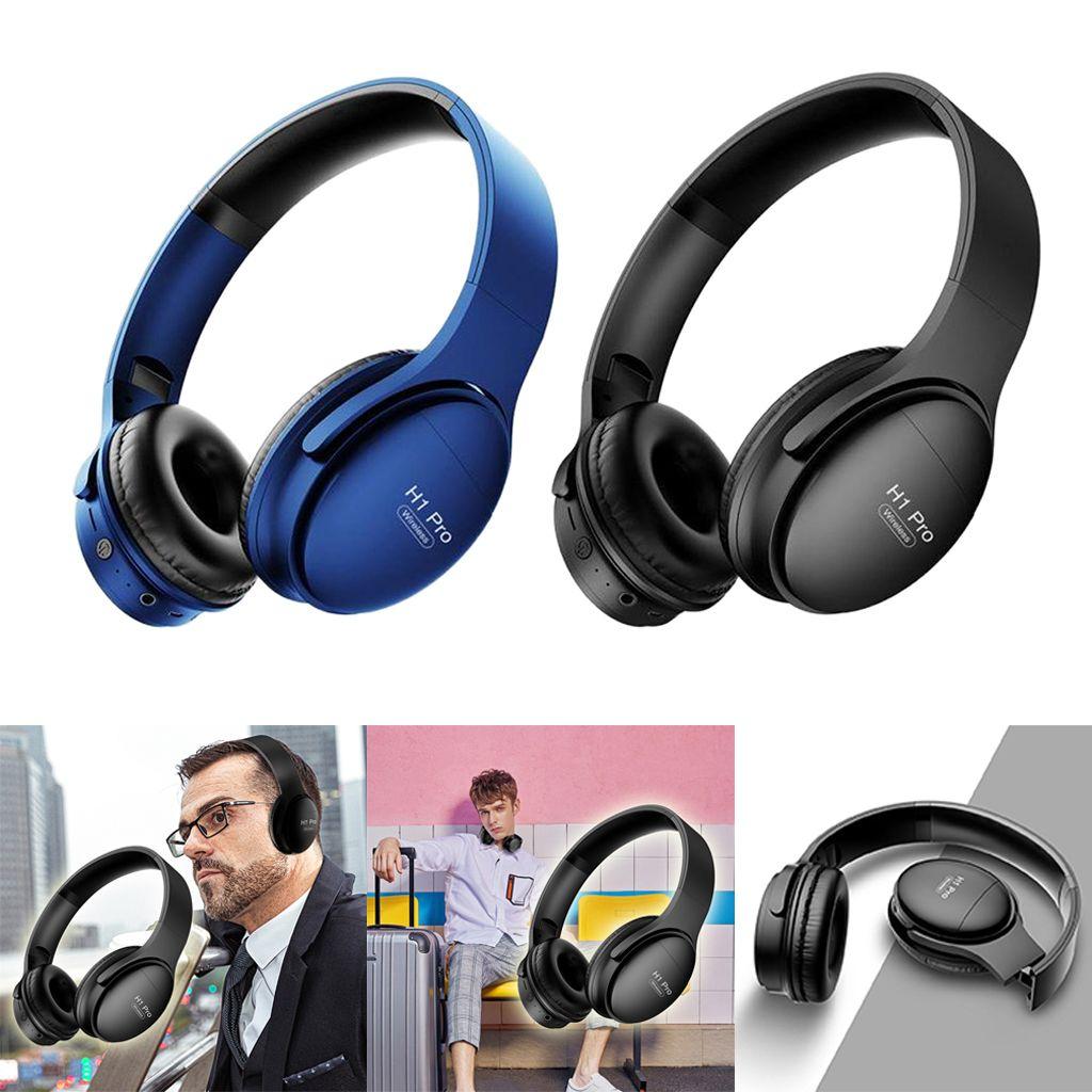 PTM H1 Pro Bluetooth Wireless Headphone Noise Canceling Gaming Headset 2pcs