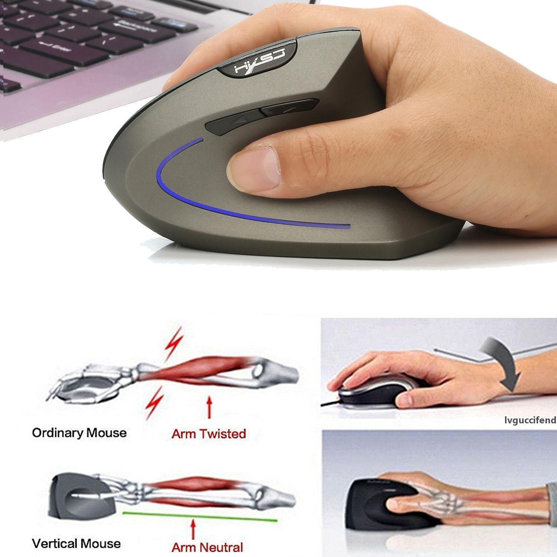 USB alıcılı Gamer PC Bilgisayar Fare Dizüstü Oyunu için en iyi kalite Kablosuz Oyun Faresi 6 Düğmeler 2400 Ayarlanabilir Optik 2.4GHz