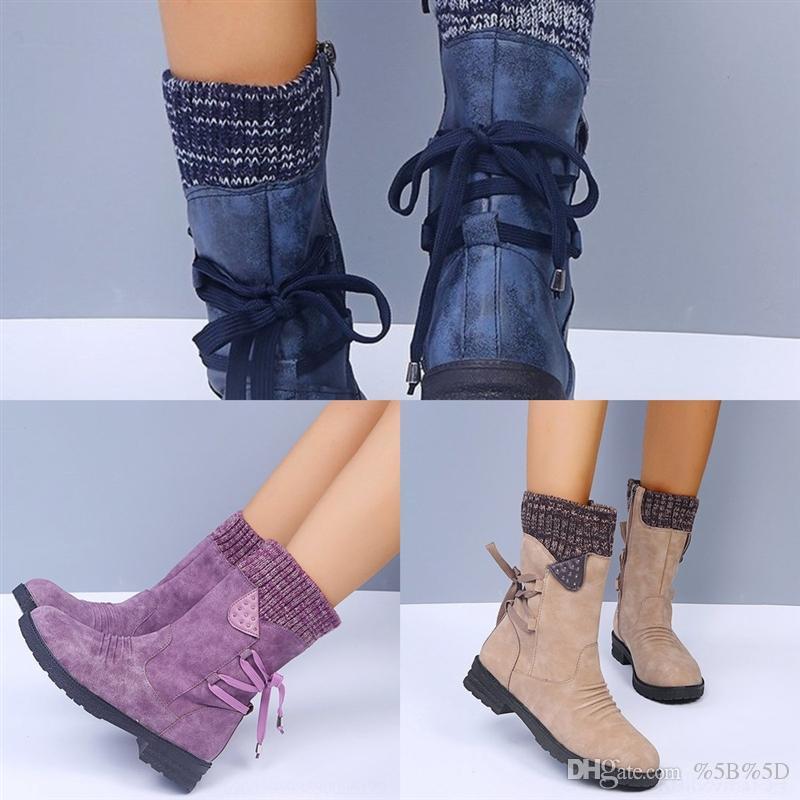 HEC Ladys Çizmeler Dolaşık Hakiki Deri Kırmızı Alt Çizmeler Kadınlar Için Karistrap Bootie Boot Çocuk Çorap Boot Yüksek Blok Topuk Boot Ayak Bileği Çizmeler