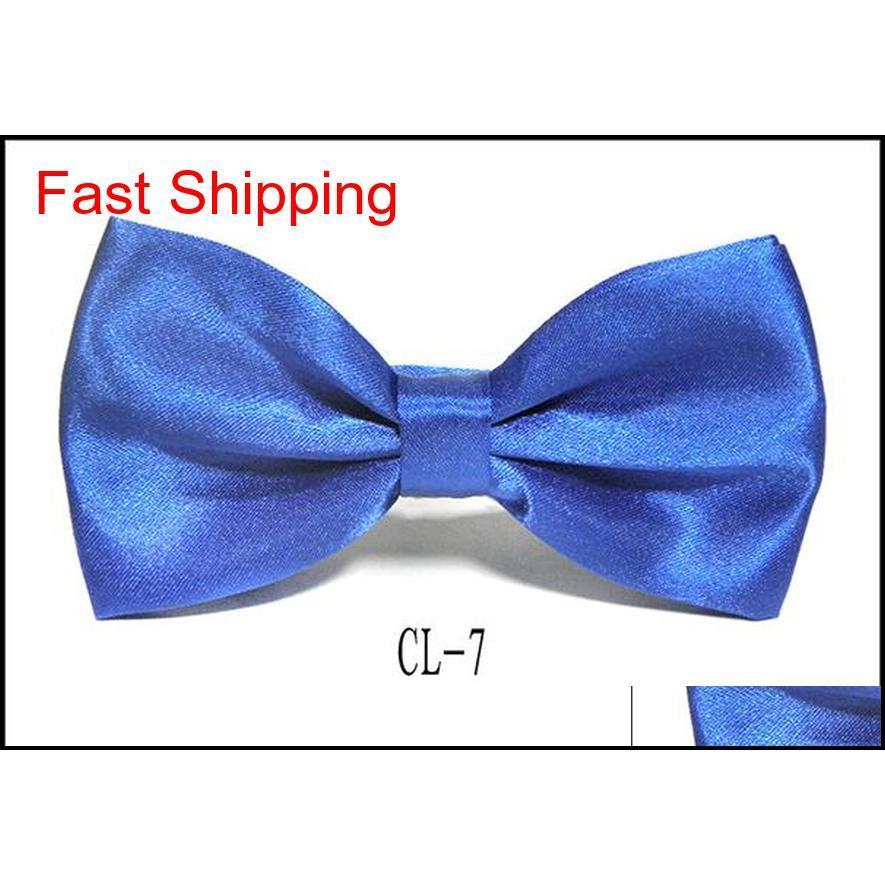 Großhandel 10 teile / los Krawatte Bowtie Bräutigam Hochzeit Zeremonie Bogen Krawatten Chiristmas Festival Geschenk Formale Hemd Qylkrv Dh_seller2010