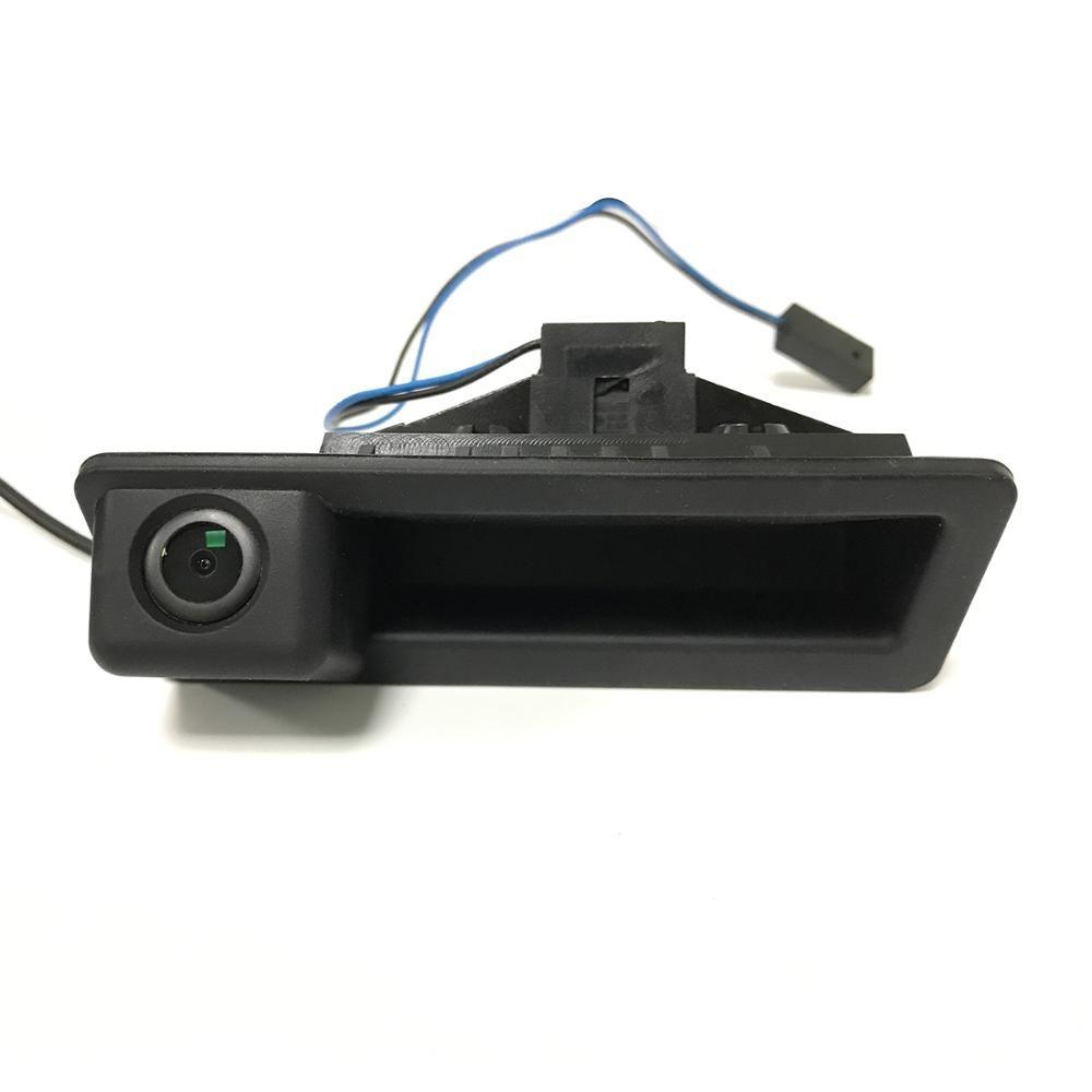 Вид сзади автомобиля Reverse Back Up парковки Ствол ручки камеры для 2008-2014 BMW 3/5 серии X1 X5 X6 1288x968 Pixel
