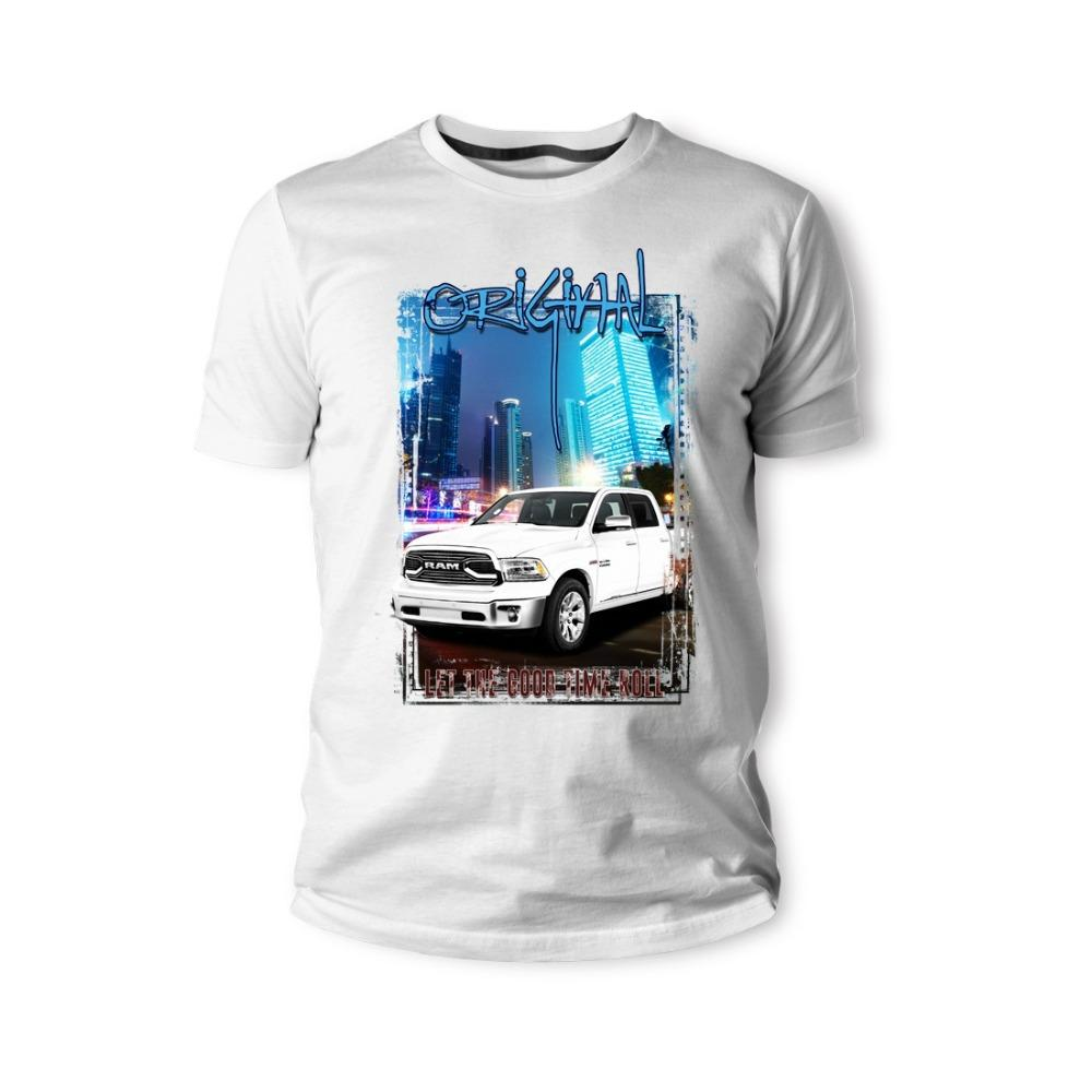 Classic American Muscle Car T Ram 1500 Truck Weiss Auto Youngtimer Oldtimer Herren s Marca Designs slim camisola Hoodie Camiseta
