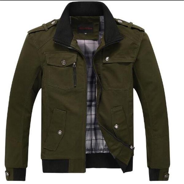 2020 nuovi uomini della giacca autunno della molla allentate giacche da uomo colletto alla coreana uomini giovani giacca abbigliamento Cappotti Cappotti