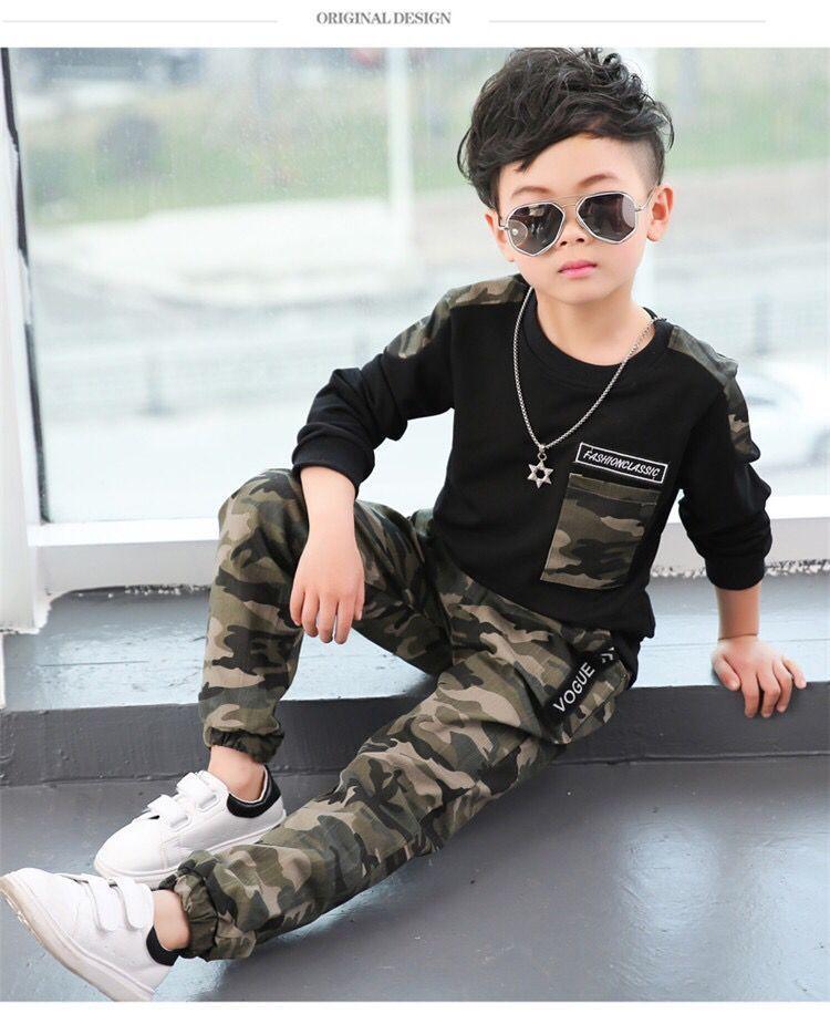 Jungen kleidet Sätze Frühlingsherbstkinder beiläufiges coat + pants 2pcs Trainingsanzüge für Baby Kindklage 2020 Kleinkind Outfits Jogging