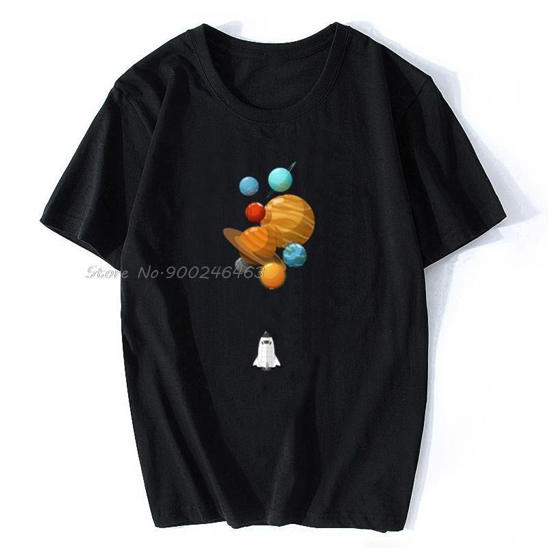 t-shirt esporte Homens Planetary Balões Camisetas Mulheres T Shirt Cotton Men Tees Tops Hip Hop Harajuku Streetwear
