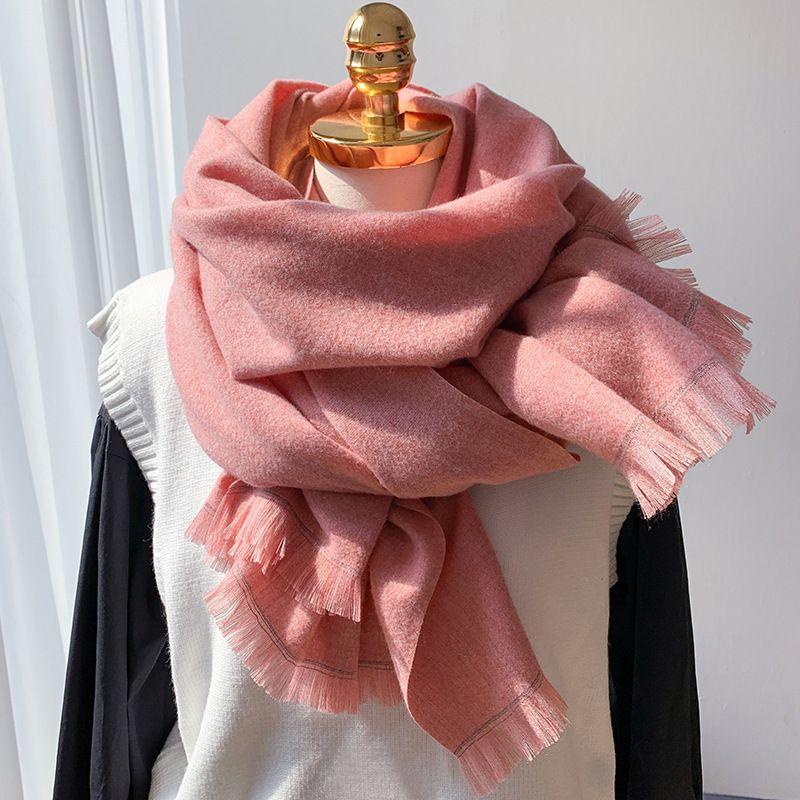 2020 sciarpa di inverno Donne cachemire Sciarpe Spessa collo caldo fascia di Hijab femminili scialli degli involucri Coperta Pashmina signore Echarpe