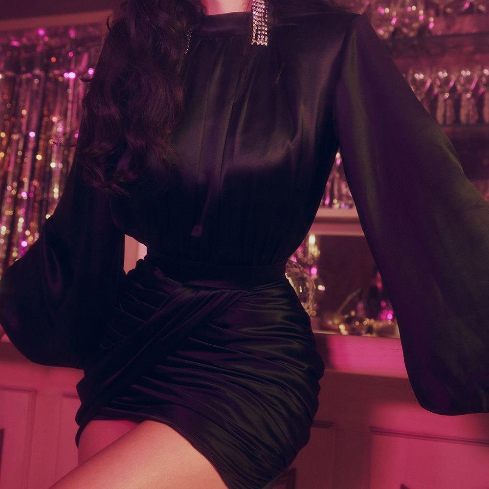 HH2V Новые женщины Новый год EVE Promess Party Pressing Cresida Sexy Hollow V-образным вырезом Bodycon Gold Sequin Plange Платье Deep Dress Out Blitter CU