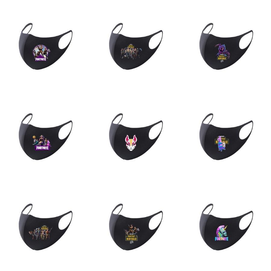 Erkekler Kadınlar Eşarp Tasarımcı Kafa Spor Başkanı Eşarplar Yıkanabilir Koruyucu Yüz İçin Lüks Yarım Yüz Açık Spor Maskeleri # 737 Maske
