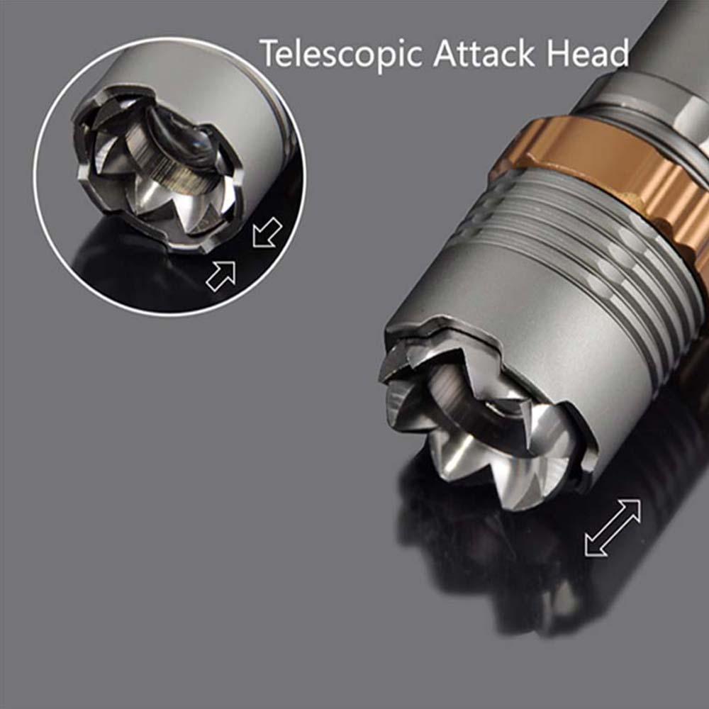 Poetman 8000LM XML T6 LED lampe de poche rechargeable torche LED Lanterne puissante avec 18650 / AAA Battery Direct Charge