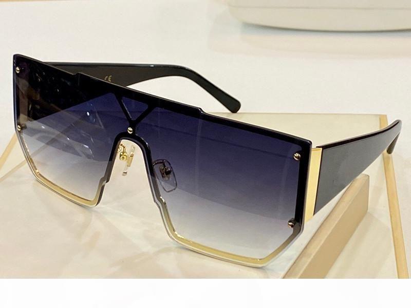 4398 Lunettes de soleil de luxe pour femmes Mode Full Cadre UV400 UV Protection Lens Steampunk Summer Square Style Comw avec paquet