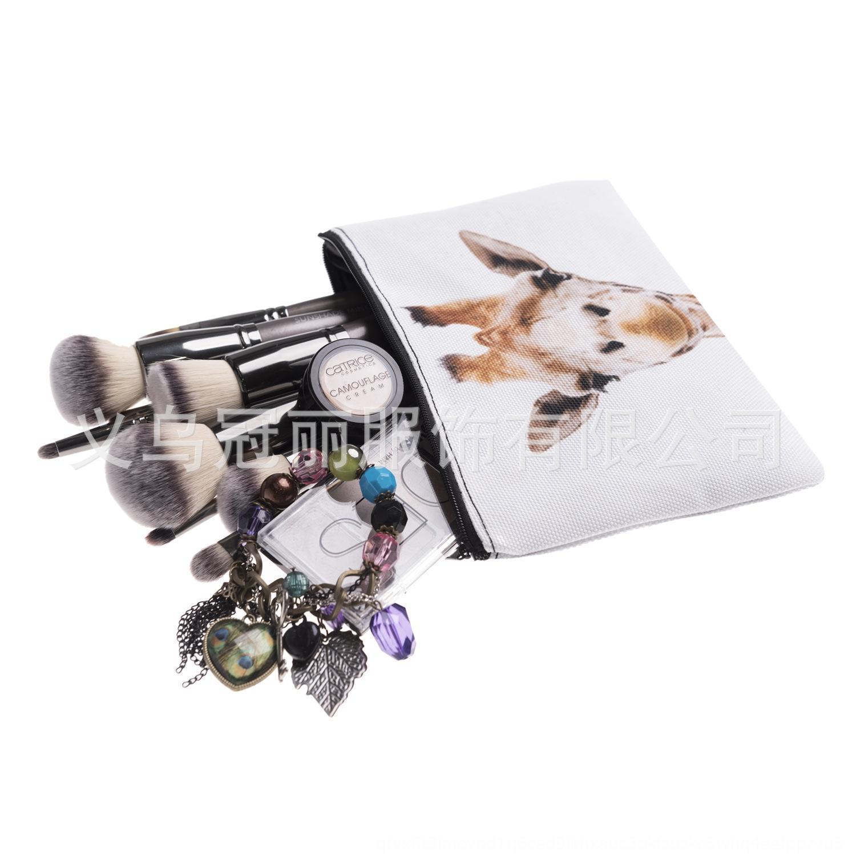 9HGxl Make-up quadratischer Druck Zohra Cosmetic horizontale Schlauchbeutel kosmetischer multifunktionale neues Hand Necessaire Fz9dr