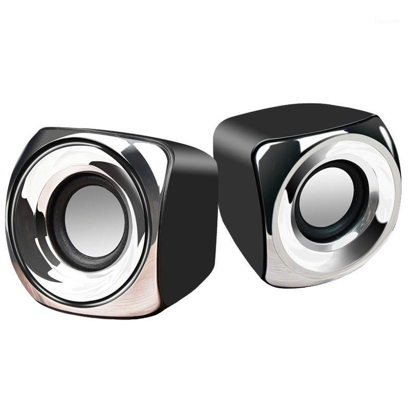 MiniMedia Mini-Ordinateurs de haut-parleurs USB Câble alimenté USB 1 paire de basses stéréo 3,5 mm de jack audio 2 haut-parleurs puissants1