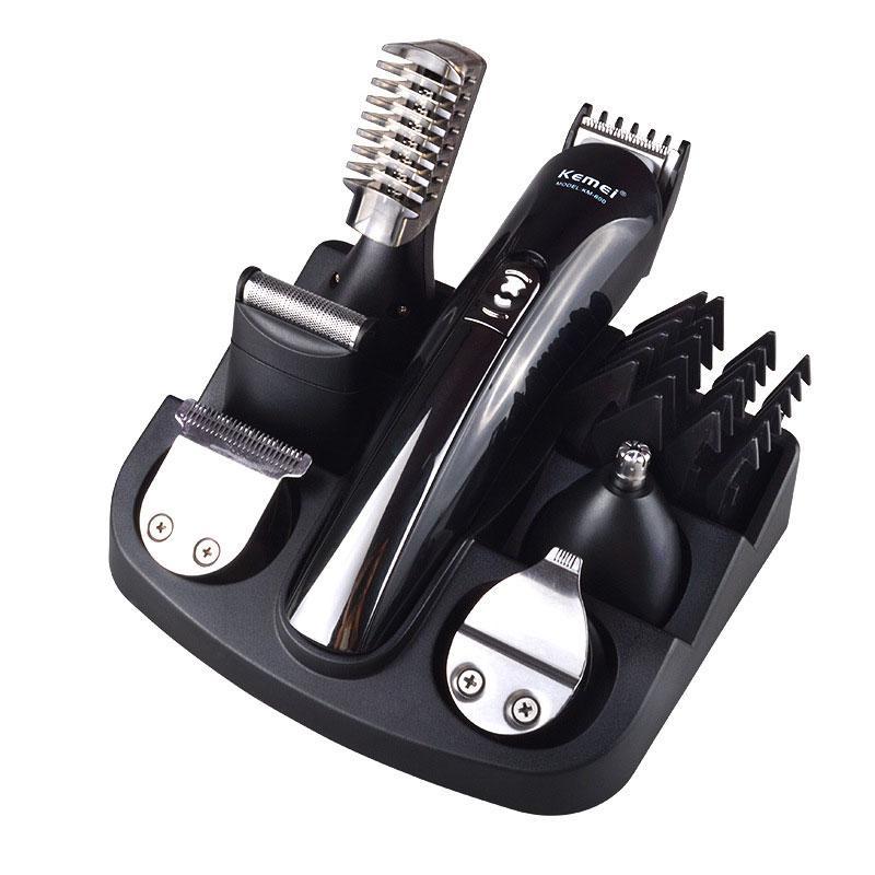 Razor Аккумуляторная Триммер для волос Титана для волос Checkper Бритва Борода Триммер Мужчины Укладки Инструменты Бритвенные Машина