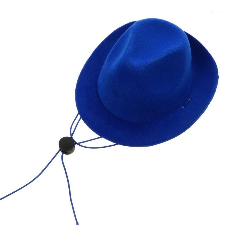 Ropa de perro disfraz de mascota vaquero sombrero de ropa accesorios mini tapa suministros1