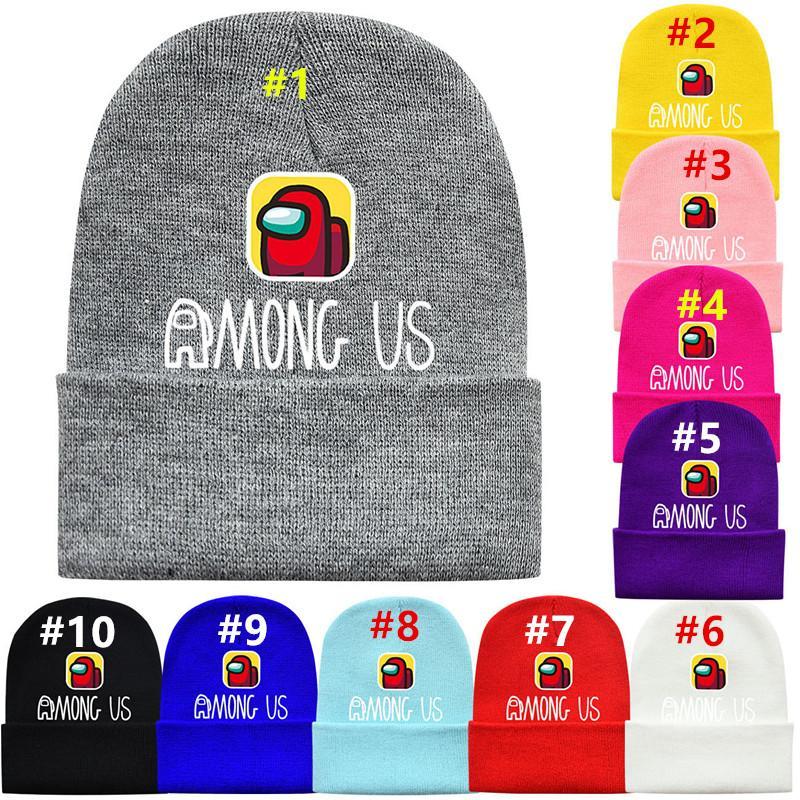 Among Us Knitted Beanie Hat Adults Unisex Boys Girls Warm Winter Woolen Cap UK