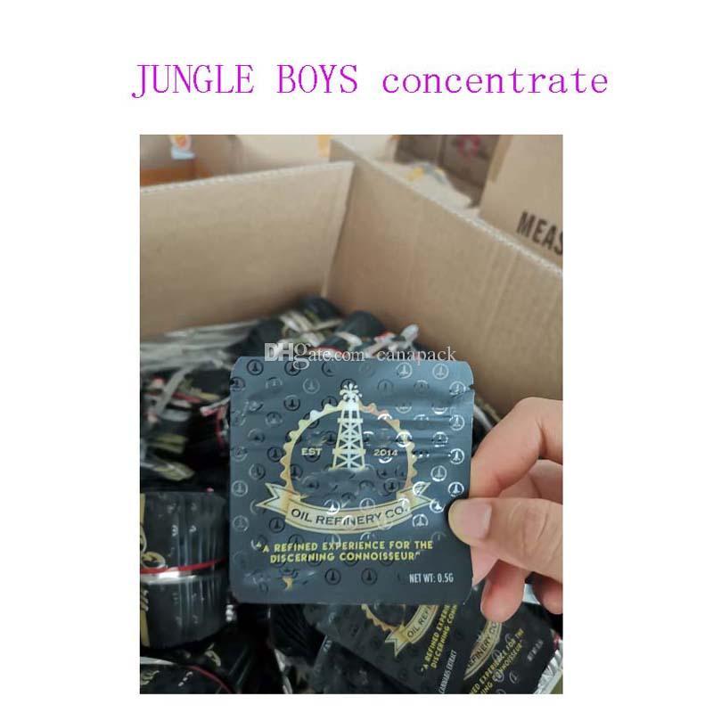 0.5g Orman Boys Mylar Çanta Balmumu Konsantre Ambalaj Çocuğun Geçirmez Paramparça Ambalajı ile Rafine Connoissur için Rafine Bir Deneyim