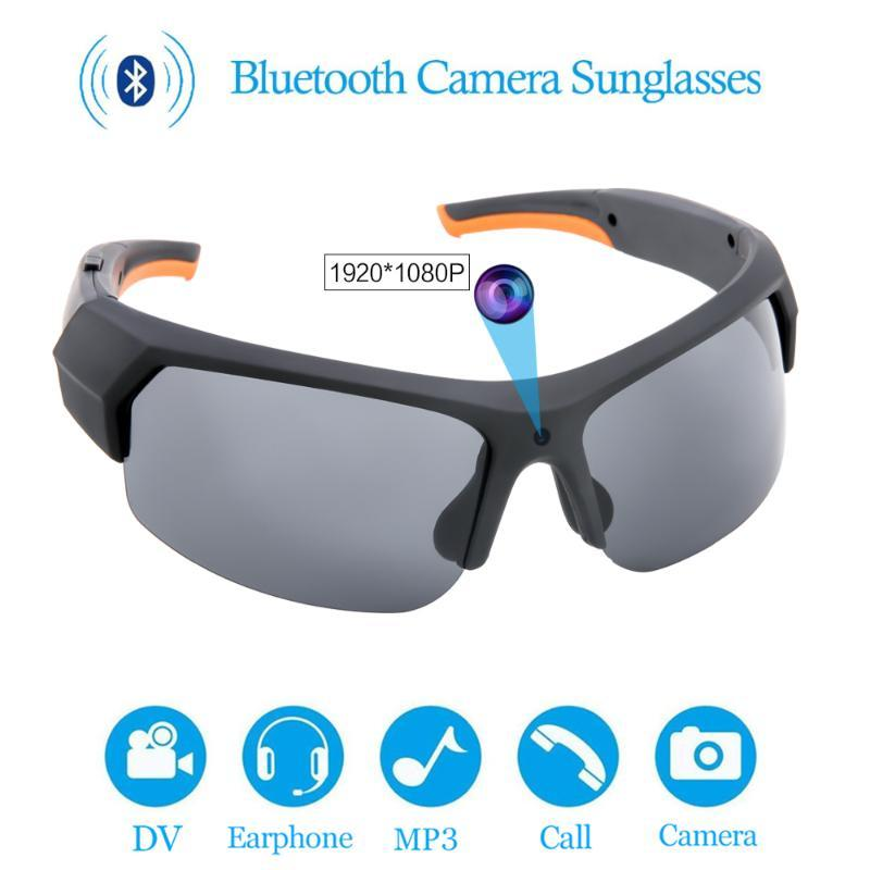 Polarized Sunglasses Camera Headset HD1080P Multifunctional Bluetooth MP3 Player Photo Video Recorder With TF Accessories 16/32G
