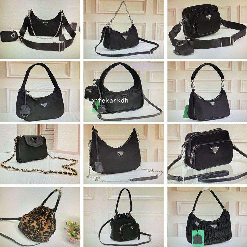 Feel Hobo Nylon Black Camouflage Bag Mini Fashion Woman Purse Crossbody QYNF Bags Handbag Tote Bag Saddle Key Weekend Chain Shoulder 8r Sqpo