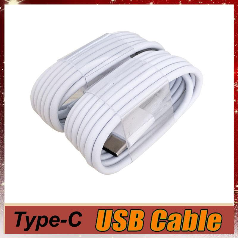 A + + Yüksek Kalite Kabloları USB-C 1 M 3ft Hızlı Şarj Tipi C Kablo Şarj Samsung Galaxy S8 S9 S10 Not 9 Evrensel Veri Tel Adaptörü MQ100