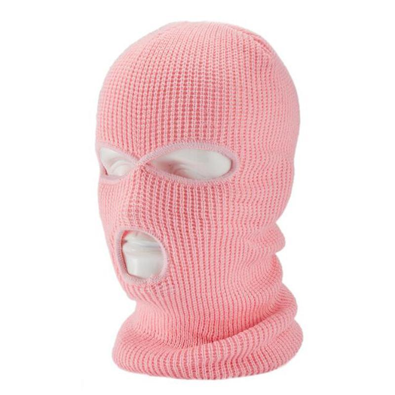 Colorful Knit Windproof Mask Hat Beanie Army Tactical CS Winter Outdoor Ski Bike Cycling Mask Hat Scarf Winter Warm Balaclava