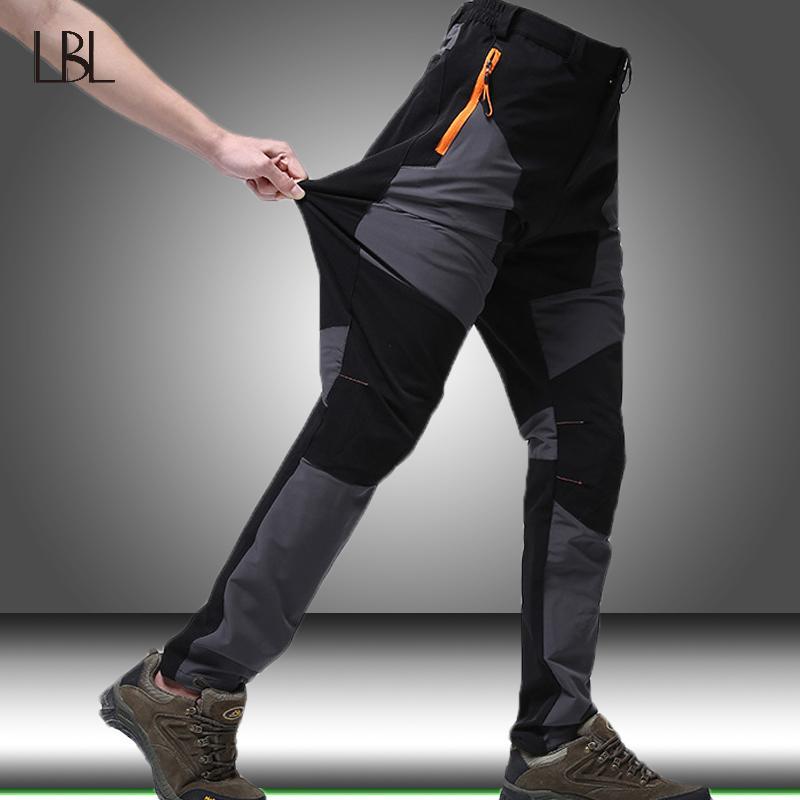 Pantalon cargo tactique militaire Hommes SWAT armée coussin pour les genoux airsoft imperméable Pantalon Quick Dry Hommes randonnée en plein air Escalade Pantalon LJ201007