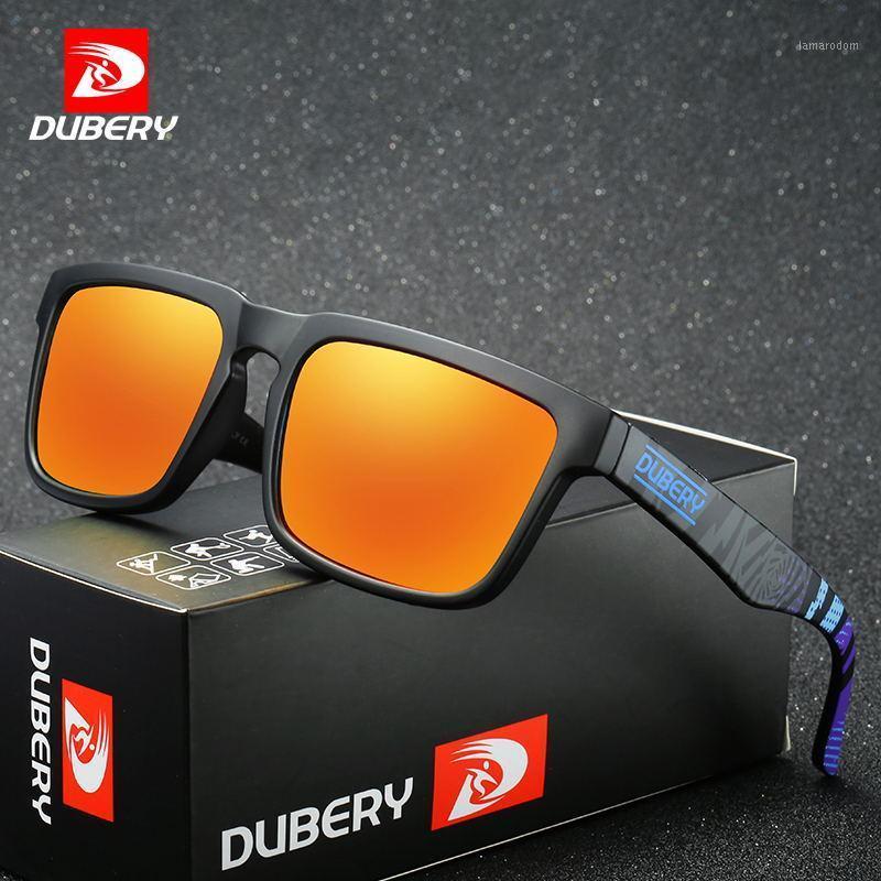 Gafas de sol polarizadas de Dubery Protección UV para hombres al aire libre Hombres de conducción para hombres Vasos de sol para hombres Diseñador de marca Oculos New1