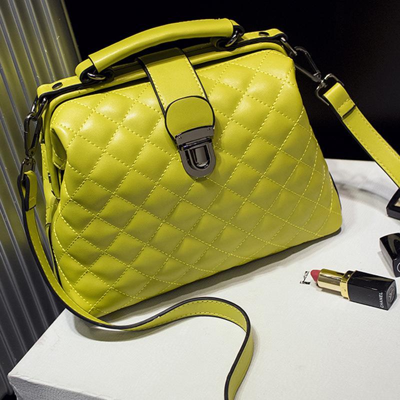 HBP حقيبة يد الطبيب حقيبة الكتف حقائب رسول حقيبة محفظة جديد مصمم المرأة حقيبة بسيطة الرجعية الأزياء الفردية