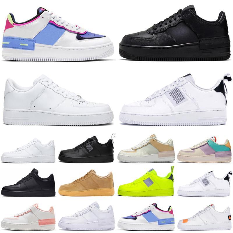 desconto Chegada sombra 1 baixo araf1.força do arForças Dunk Homens Mulheres Running Shoes Mens Trainers Esportes Sneakers Corredores