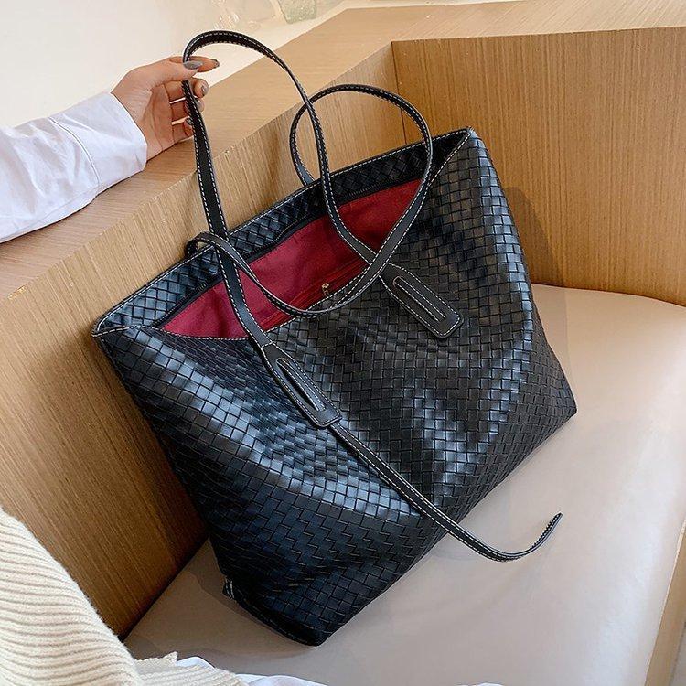 Vintage Womens Hand bags Designers Luxury Weave Women Shoulder Female Tophandle Fashion Brand Handbags Q1230
