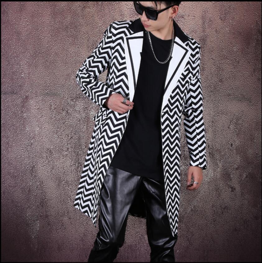 2020 Весна и на заказ осенью мужские пиджаки напечатанные костюм шить средняя длина Big-name стилист волос пиджак 90yy