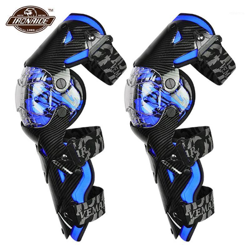 Mavi Motocross Diz Pedleri Motosiklet Diz Guard Moto Koruma Motocross Ekipmanları Motosiklet Koruyucu Güvenlik Muhafızları1