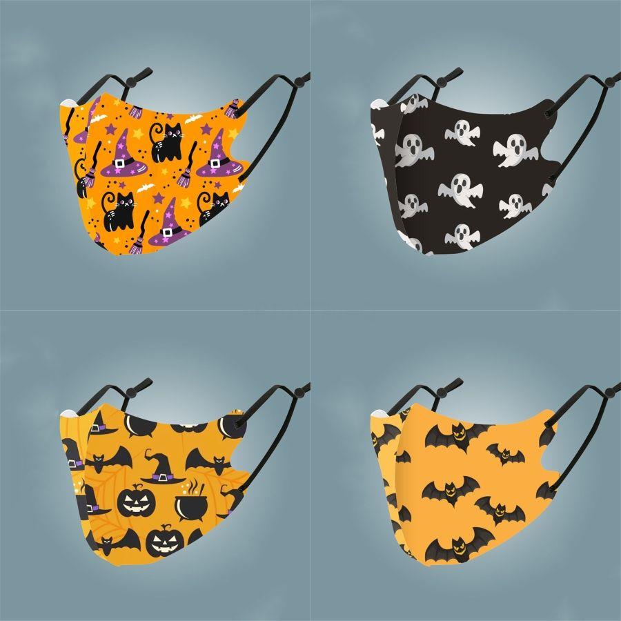 Adultes Mode Visage Masques Cartoon Drapeau imprimé léopard impression poussière bouche Masque Anti PrectiveSummer UV # 693 printemps