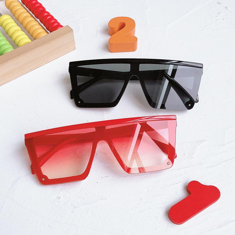 2021 Новая детская мода один кусок Trend Baby родительские детские солнцезащитные очки