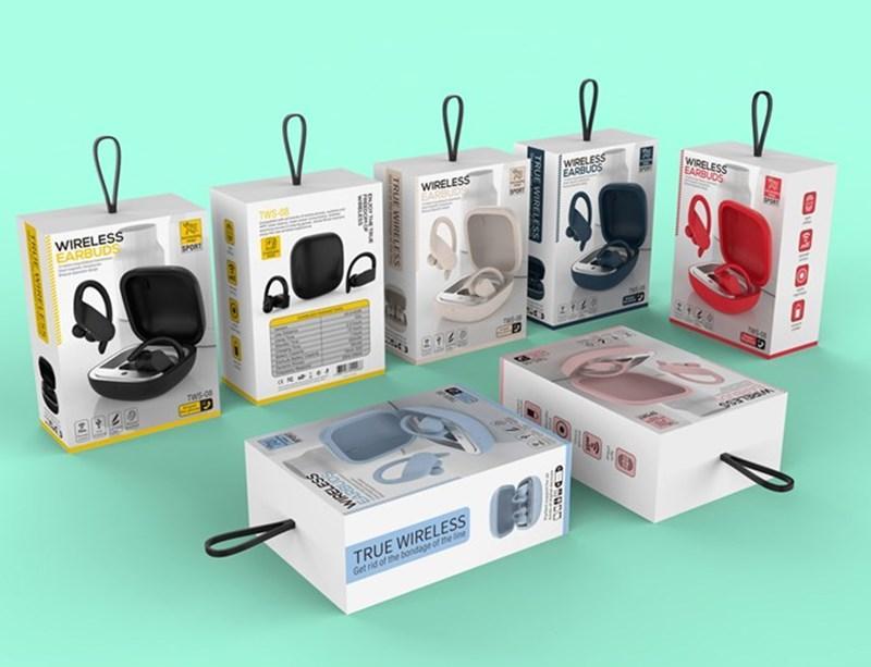 Беспроводной Bluetooth-наушники TWS Headset Stereo Sound с портативной зарядной коробкой сотовых наушников с микрофоном в Charbud