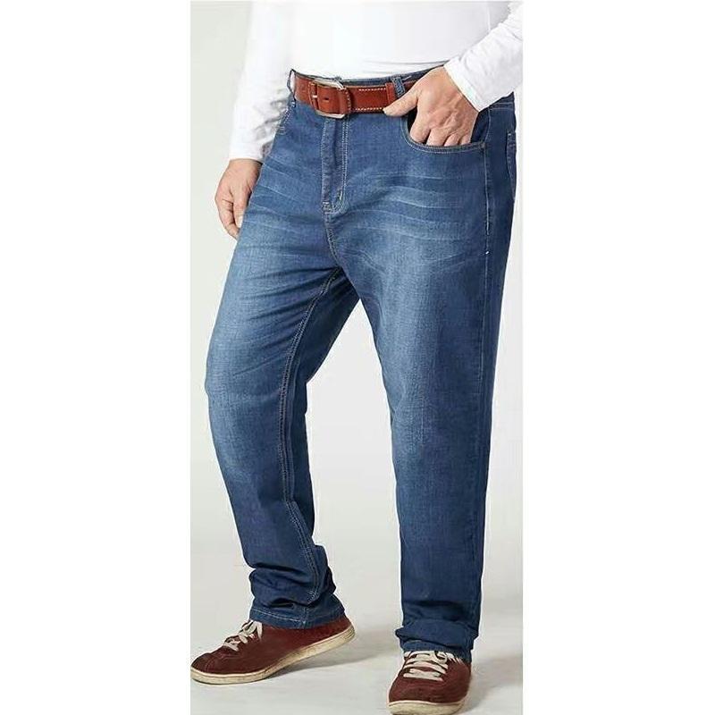 Удобные Сыпучие повседневные джинсы брюки