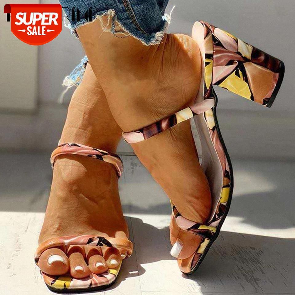 Ribetrini seksi kız açık plaj rahat ayakkabı üzerinde kayma Karışık renk kadın terlik yüksek topuklu yaz terlik # 3T3g