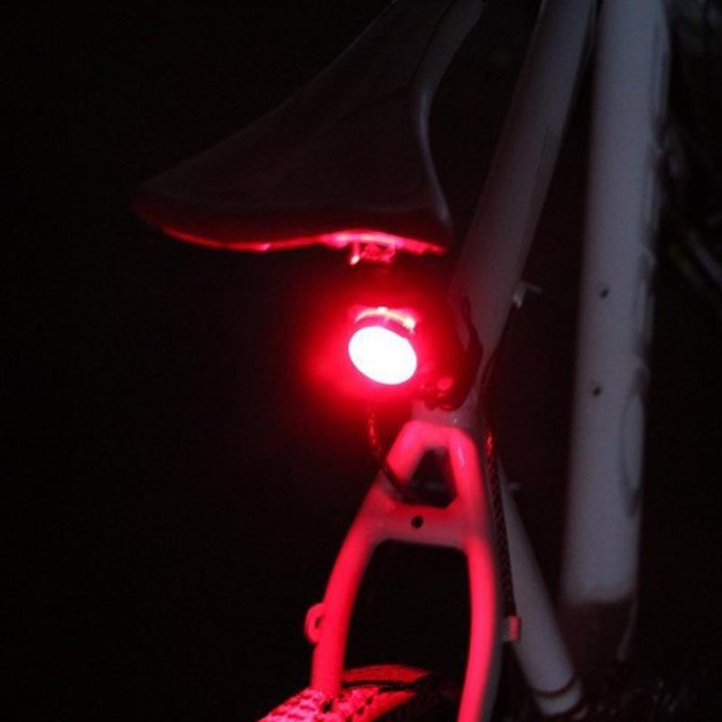 Fahrradlichtsatz Radfahren Vorderer Rückschwanzscheinwerfer Kit USB Wiederaufladbare 3 Modi Tragbare Wasserdichte Radelemente