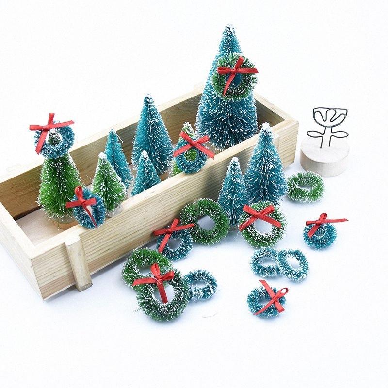 10pcs grinaldas com decoração de casa pompom arcos árvore de Natal flores decorativas do casamento de noiva acessórios de apuramento guirlanda barato GOJw #