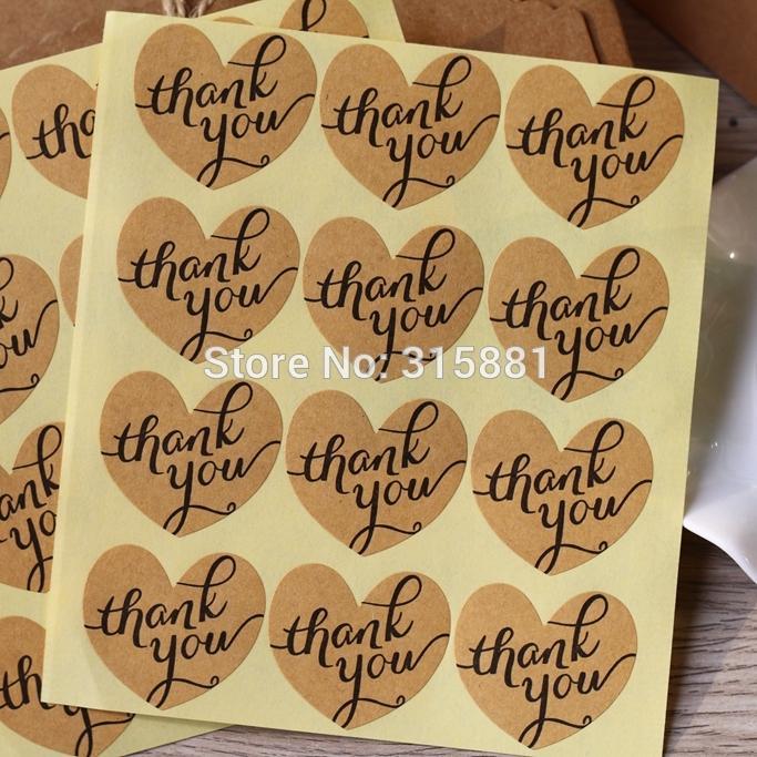 Kalp Sen Çıkartma, DIY Kek Bisküvi Şeker Hediye Kutusu sticker, Davet Çıkartma, Parti Zarf Çıkartma 120pcs Favor ederiz