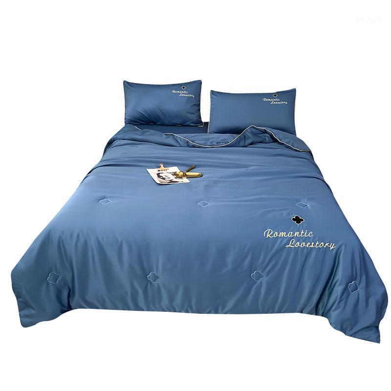 Sommer Bettwäsche Bettdecke Wasser Silk Quilt Casseure Decke Bettwäsche Füller Drei Größen für Erwachsene1