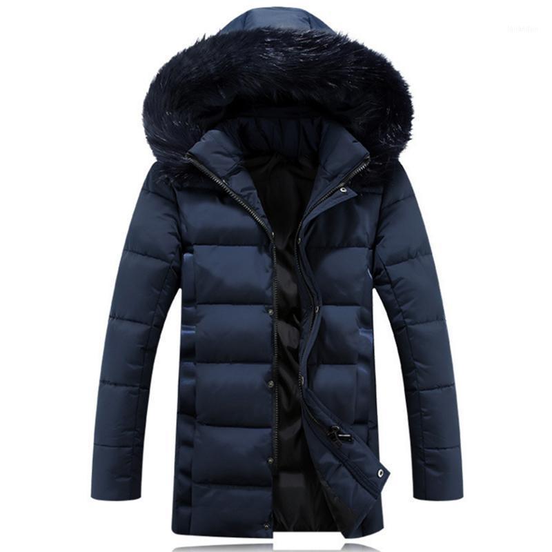 Hohe qualität dicke pelzkragen winterjacke männer 2020 neue camperas parkas chaquetas hombre invierno jaqueta masculina casacos1